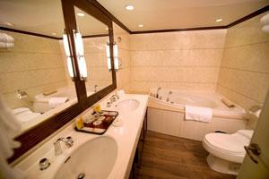 美维凯莎号游轮浴室