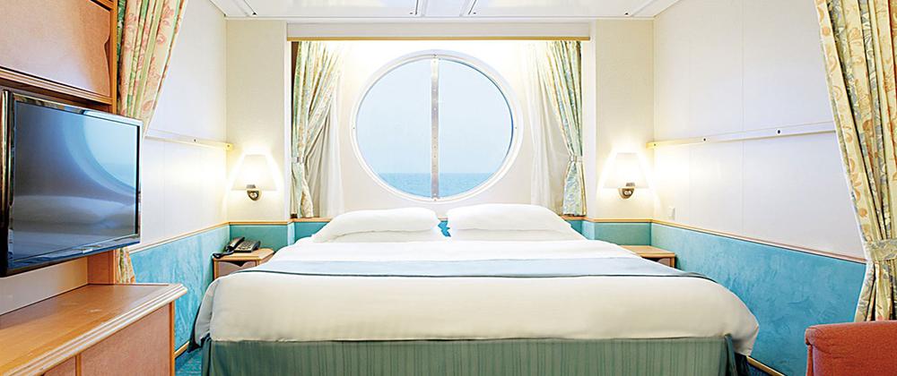 海洋水手号邮轮海景房