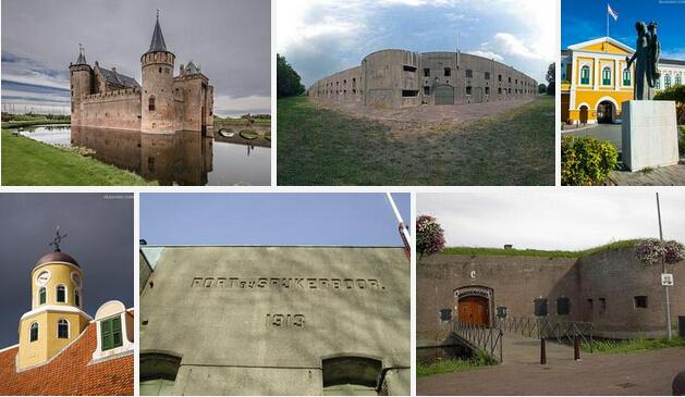阿姆斯特丹开放的堡垒防线