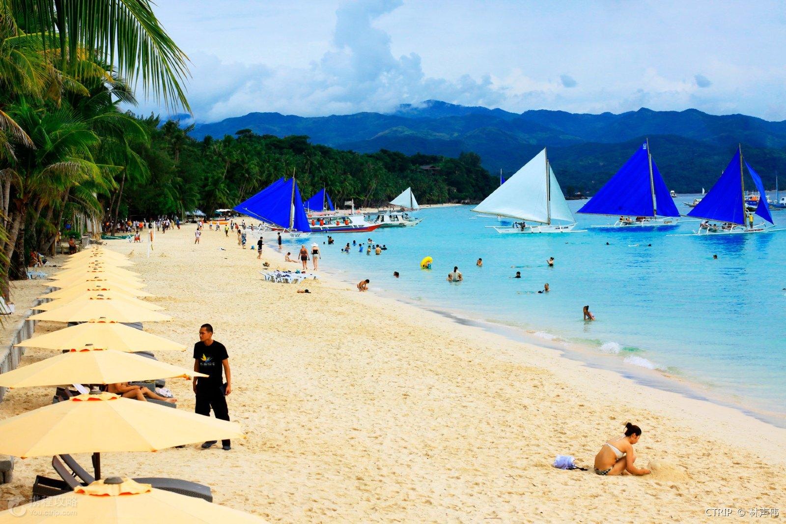 菲律宾长滩岛5天3晚自由行(每天都睡到自然醒,全程免去紧张行程)