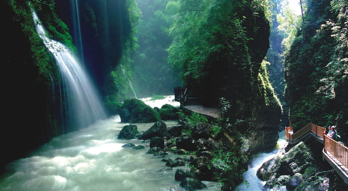 重庆黑山谷生态风景区,梦幻奥陶纪二日游_重庆周边二