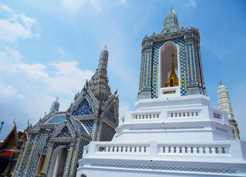 重庆到泰国大皇宫,玉佛寺旅游