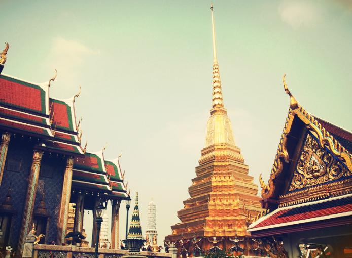 重庆到曼谷神殿寺
