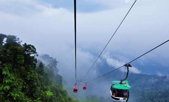重庆到印度世界最长缆车旅游