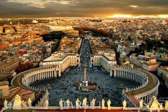 重庆到德法意瑞10天游景点-圣彼得广场