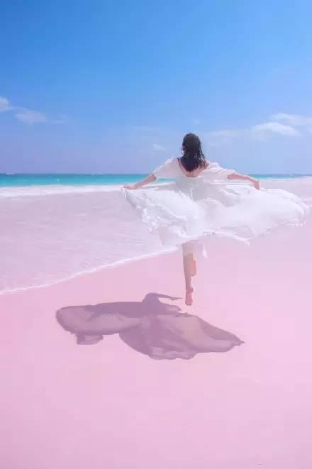 重庆中国青年旅行社浪漫粉色沙滩
