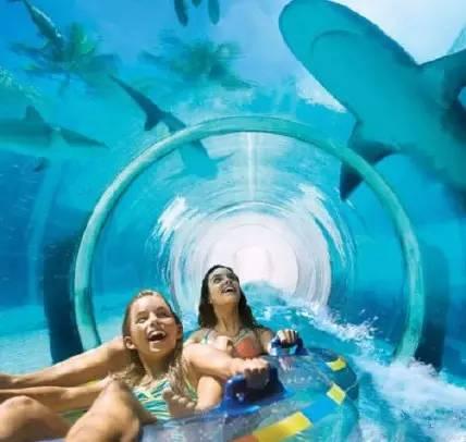 海底滑梯隧道