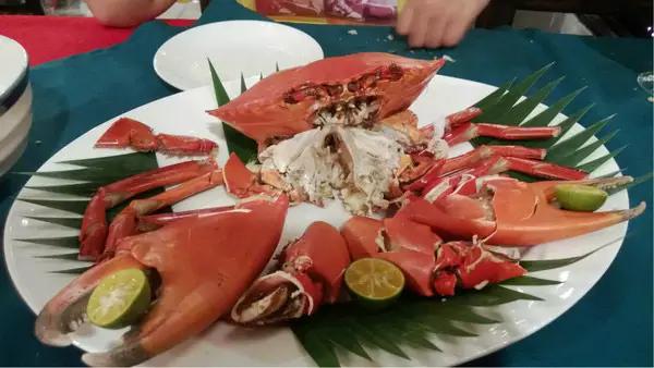 帕劳美食红树林蟹