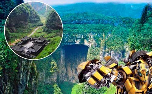 武隆天坑(生)三硚、龙水峡地缝品质一日游品质之旅,重庆指定地方免费接