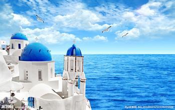 浪漫希腊双岛半自由行10日游成都起止