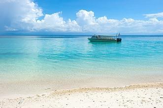 马来西亚沙巴半自由行5/6日游<沙比岛+马穆迪岛>深蓝梦境 升级版