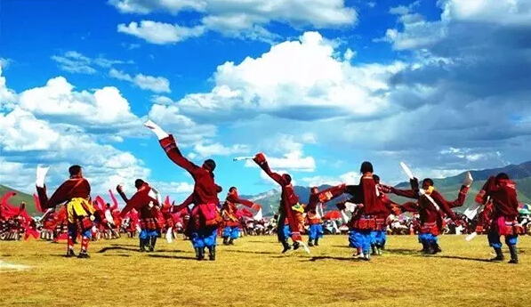 高原藏人的游牧生活