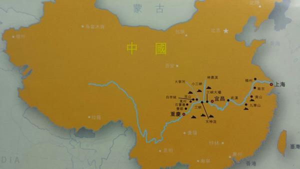 三峡旅游走过的地方