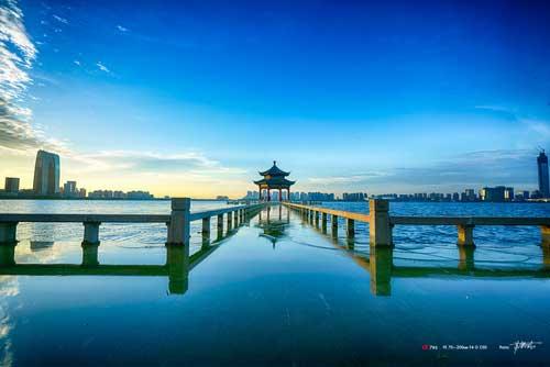 苏州-金鸡湖