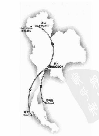 泰国旅行经典线路