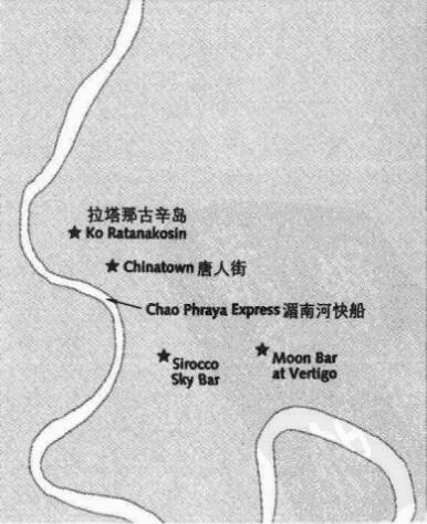 曼谷旅游点地图