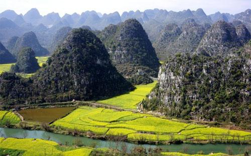 贵州兴义秘境双飞3天2晚自由行又见万峰林,重庆周边避暑游