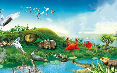 长隆野生动物园+欢乐世界+水上乐园+飞鸟乐园双飞4日游奇趣童真 欢乐亲子