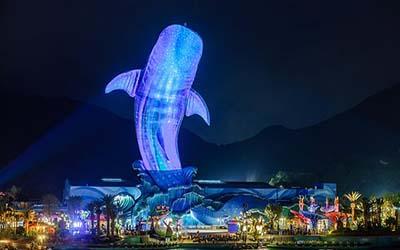 长隆野生动物园+珠海海洋王国+欢乐世界+水上乐园+飞鸟乐园双飞5日游奇趣童真 欢乐亲子