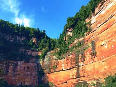 贵州赤水佛光岩景区