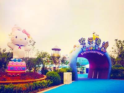 华东【上海+杭州+苏州】迪士尼-凯蒂猫-乌镇-宋城-留园亲子纯玩双飞6日游奇幻双乐园 欢乐亲子游