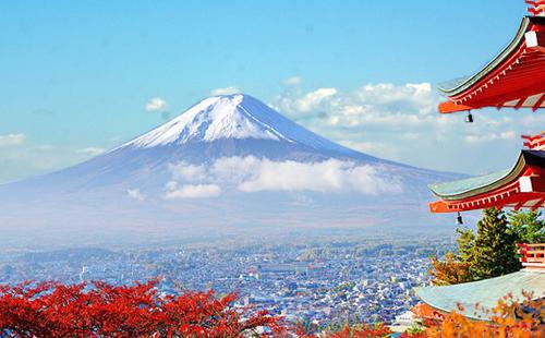 10月日本东京+箱根+富士山+京都+奈良+大阪6日游金秋の双古都
