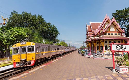 泰国华欣火车站