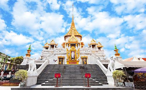 泰国曼谷-芭提雅+金沙岛6日游百媚众生