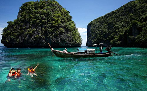 泰国普吉岛新奇之旅7日游<4+5星私人海边酒店,全程0自费,只进3个店>普吉海盗王