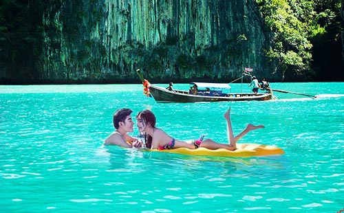 泰国普吉岛+斯米兰+珊瑚岛7天5晚游<川航+全程0自费+全程海边泳池酒店>唯爱斯米兰
