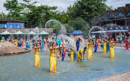 泰國·普吉島·潑水村景點