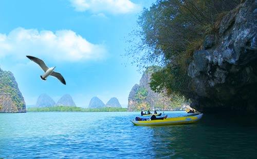 泰国普吉岛纯净双飞6日游唯美海悦