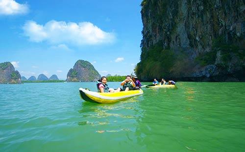 普吉岛-曼谷-芭提雅三地全景8日游特惠行程,不容错过