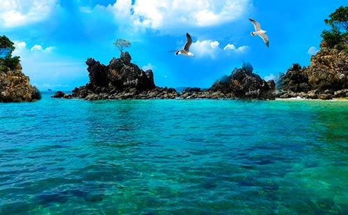 普吉岛-PP岛-蓝钻岛-长岛双飞6日游<全程0自费+只进两个店+浮潜>蓝湾别墅·慢时光
