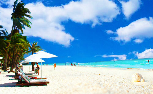 长滩岛阿兰达酒店7日游半自由行<2人成团,酒店可选择>恋上长滩岛