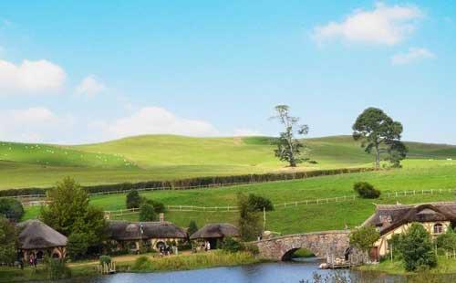 新西兰霍比特人村