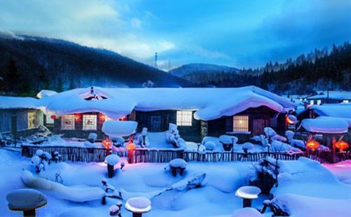 哈尔滨-亚布力-雪乡-伏尔加庄园纯玩双飞6日游冰雪总动员