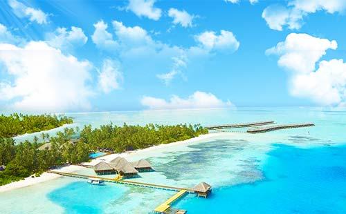 马尔代夫【梦境岛】自由行双飞7日游重庆直航 一价全包