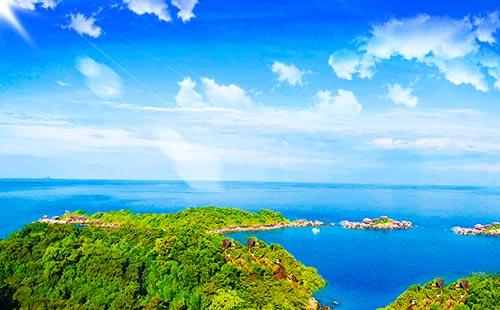 普吉岛-斯米兰-甲米-海豚岛双飞6日游<5+1自由行+2天出海游+豪华双体帆船>天域·斯米兰B系列