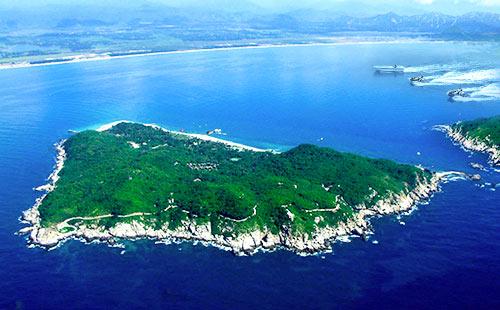 三亚蜈支洲岛+天涯海角+大小洞天+呀诺达+槟榔谷双飞5\6日游抖海音