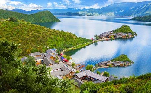 西昌瀘沽湖、邛海、瀘山雙汽四日游最美西昌瀘沽湖