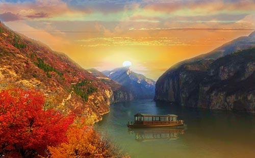 【精華游】重慶到三峽往返三日游<含餐含住宿+含3景點>重慶-宜昌游船,每天早中兩班