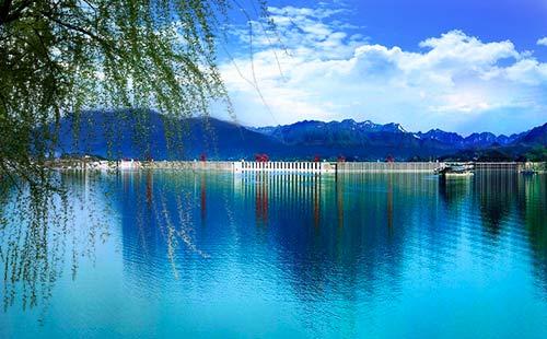 三峡大坝+三峡大瀑布动车2日游银色大坝 绿色宜昌
