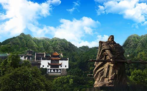張飛廟旅游景點
