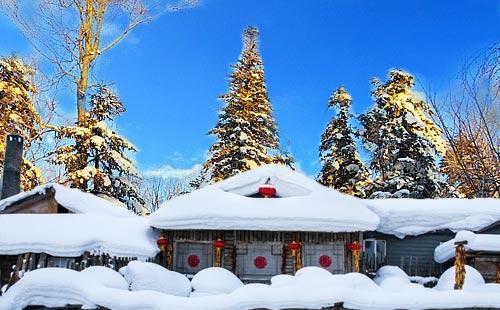 黑龙江雪乡