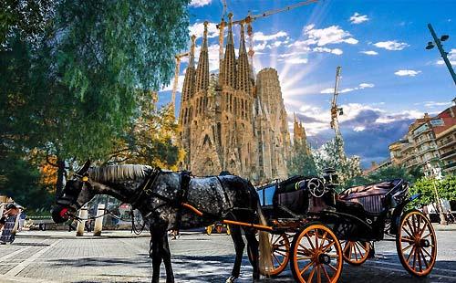 欧洲西班牙+葡萄牙2国12日游[QR一价全含+含服务费+酒店税]天籁四星