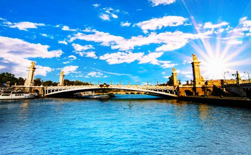 法国巴黎一地半自由行7日游HU海航 重庆出发 畅玩巴黎