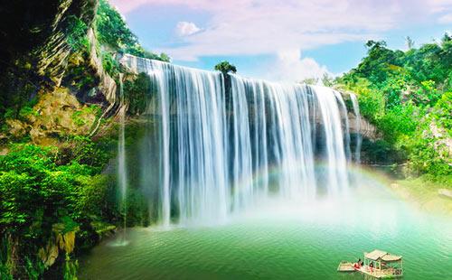 萬州大瀑布旅游景點