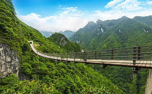 武陵山大裂谷3