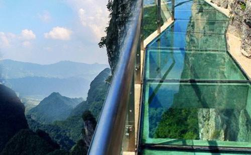 张家界森林公园-玻璃廊桥-大峡谷双飞4日游<一价全含+0自费0购物>全景张家界